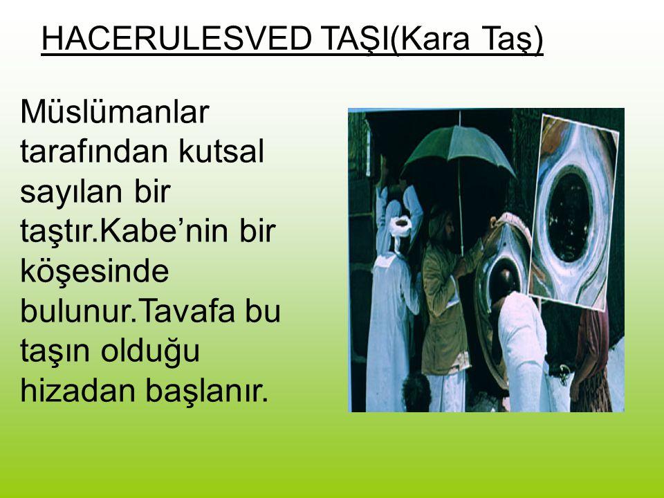 HACERULESVED TAŞI(Kara Taş)