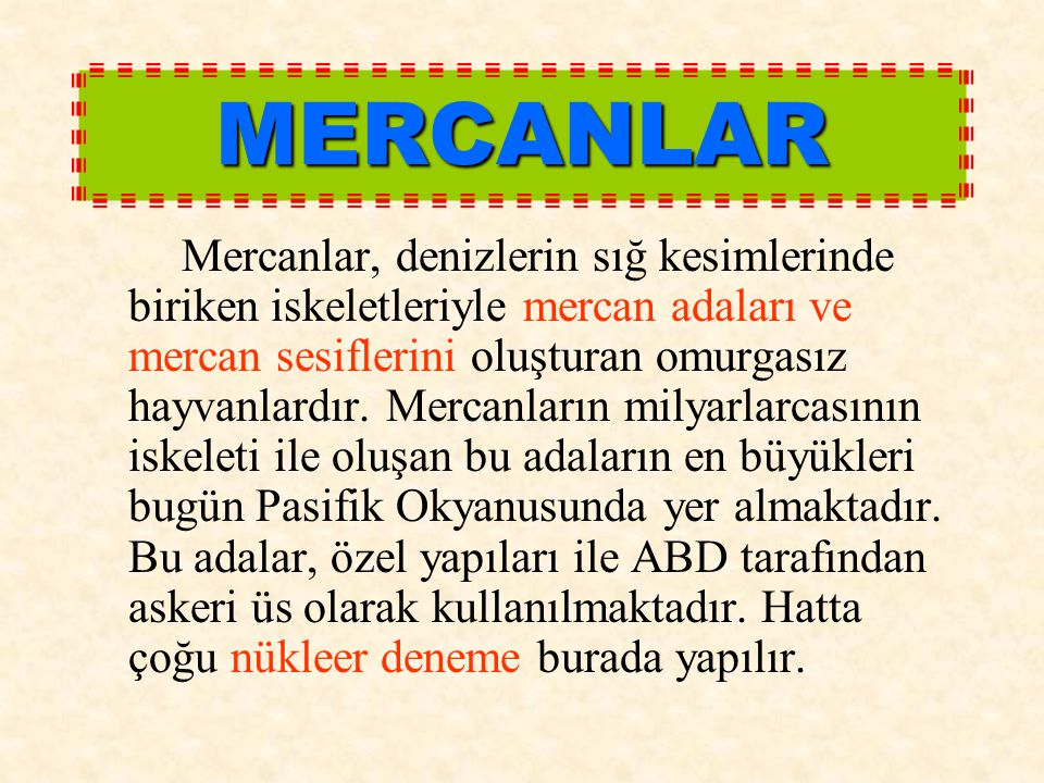 MERCANLAR