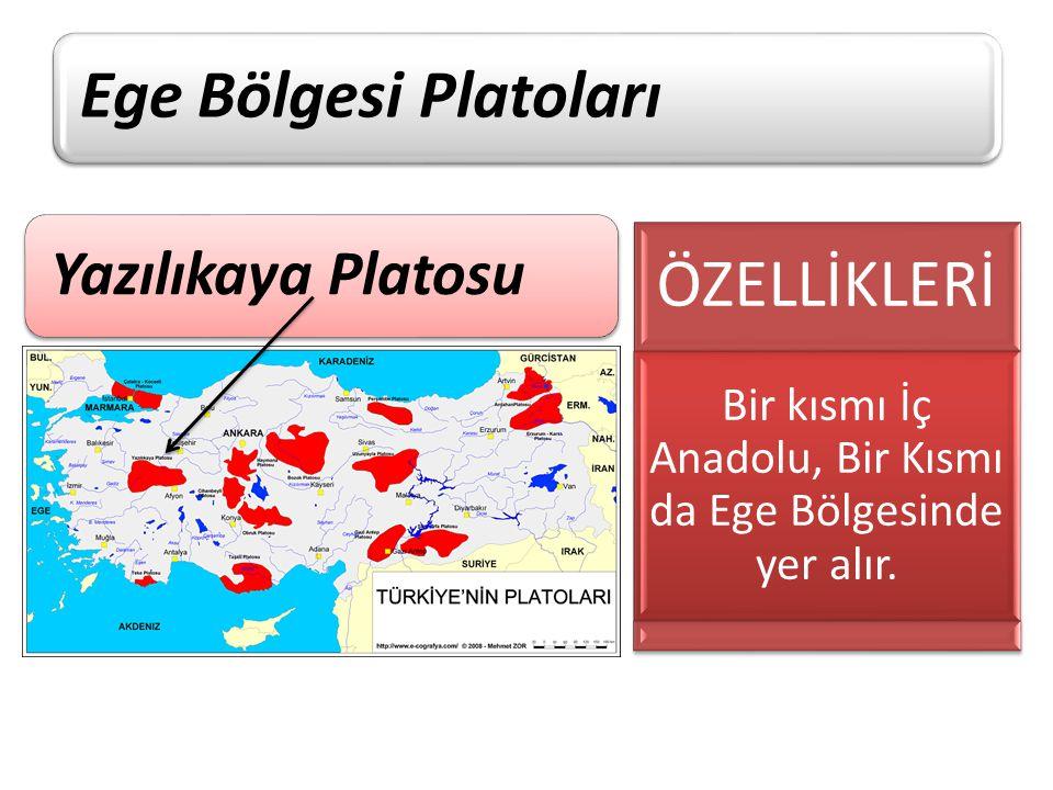 Bir kısmı İç Anadolu, Bir Kısmı da Ege Bölgesinde yer alır.