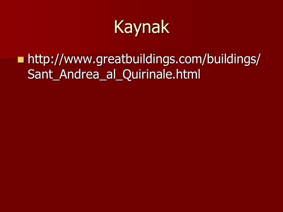 Kaynak http://www.greatbuildings.com/buildings/Sant_Andrea_al_Quirinale.html