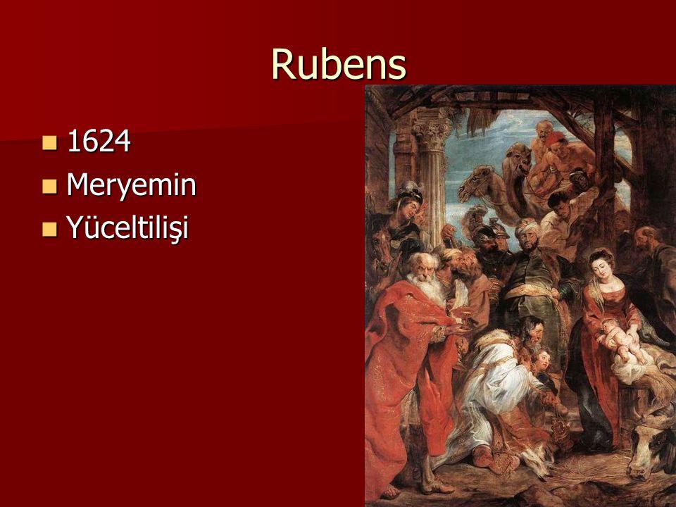 Rubens 1624 Meryemin Yüceltilişi