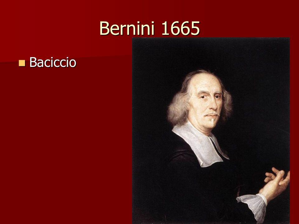 Bernini 1665 Baciccio