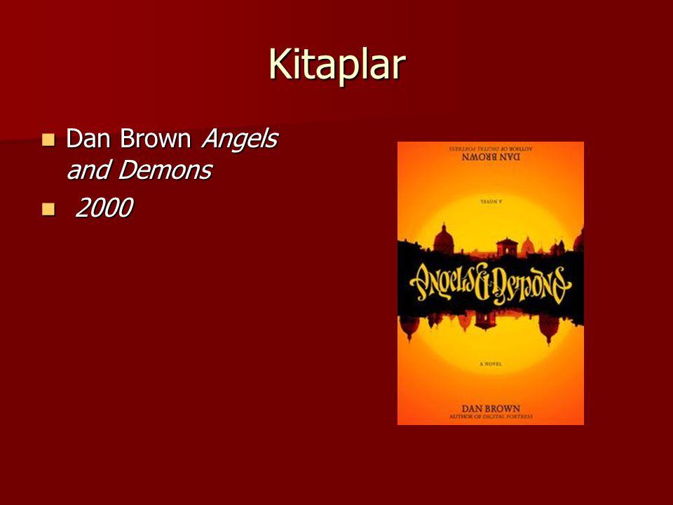 Kitaplar Dan Brown Angels and Demons 2000
