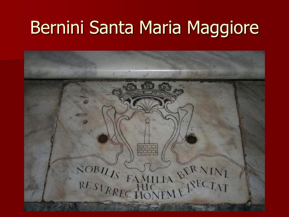 Bernini Santa Maria Maggiore