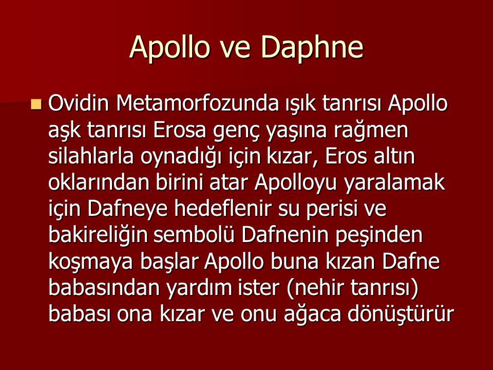 Apollo ve Daphne