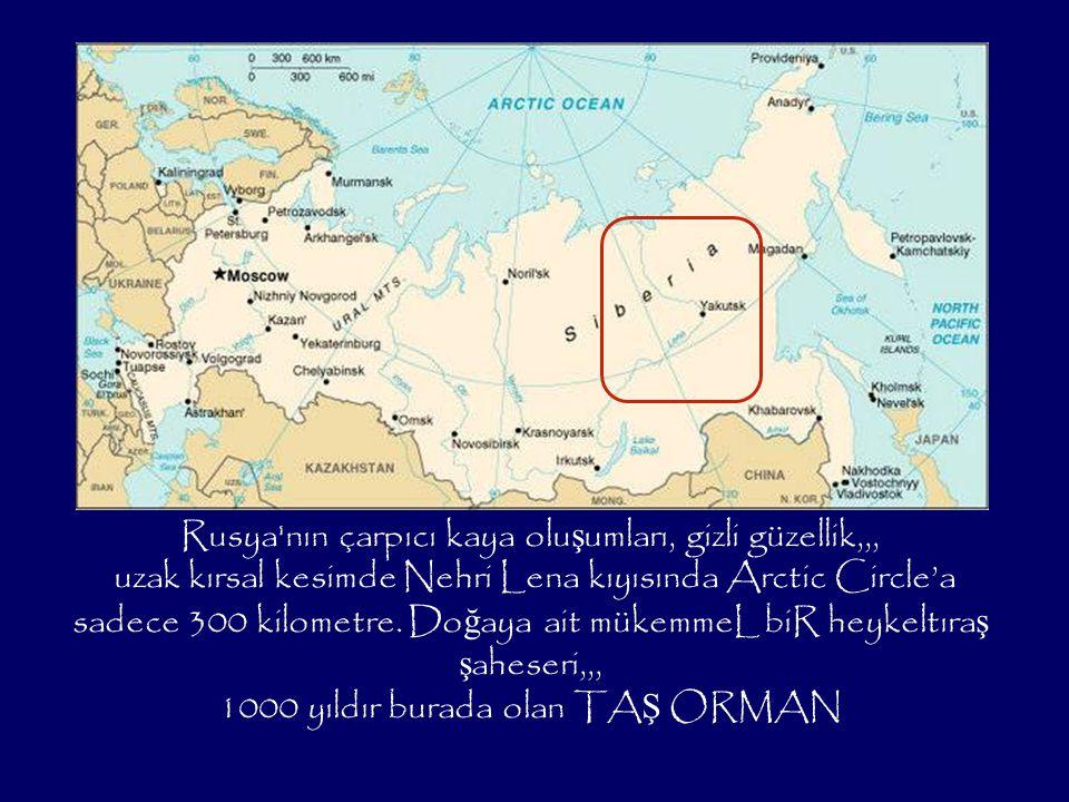 Rusya nın çarpıcı kaya oluşumları, gizli güzellik,,,