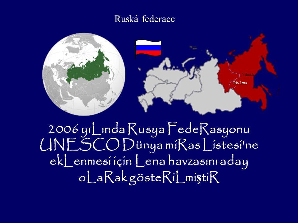 Ruská federace .Yakutsk. Río Lena.