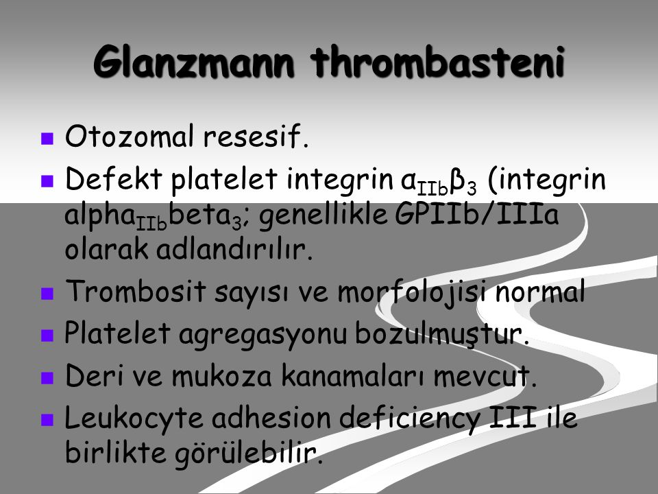 Glanzmann thrombasteni