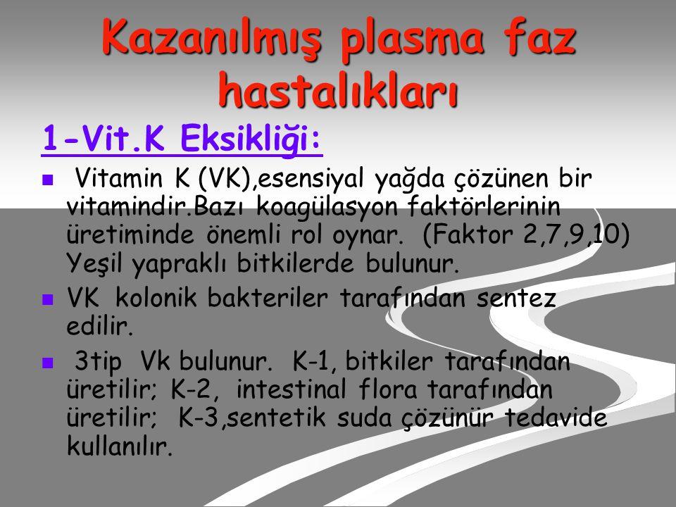 Kazanılmış plasma faz hastalıkları