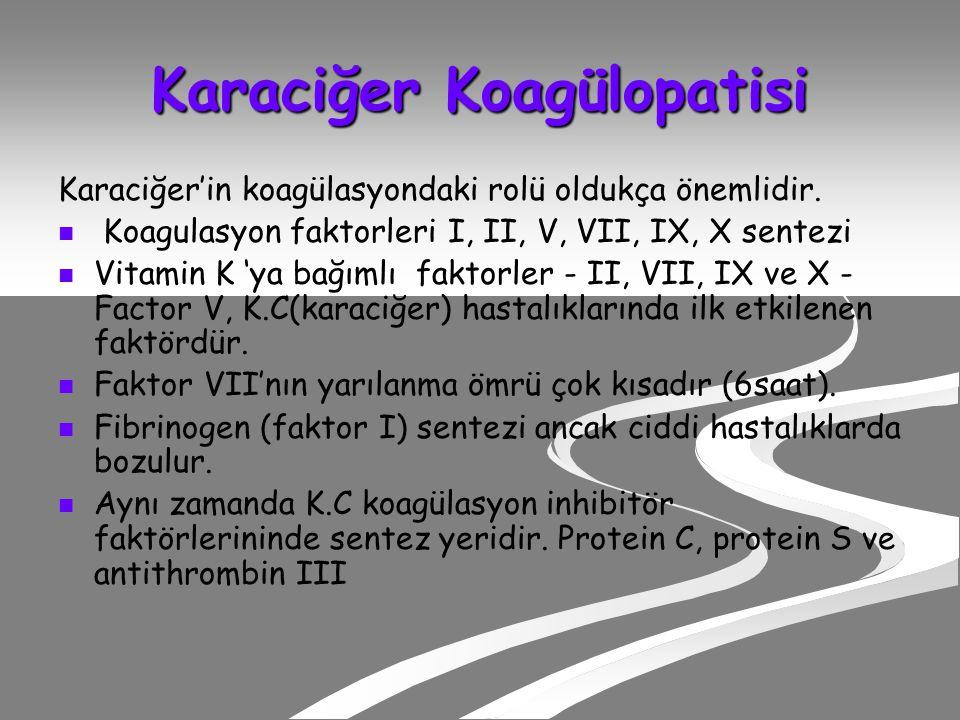 Karaciğer Koagülopatisi