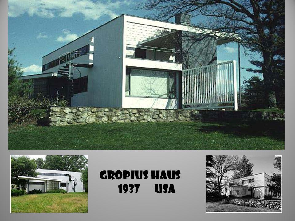 GROPIUS HAUS 1937 USA