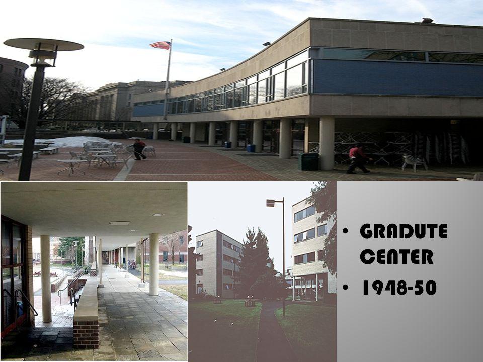 GRADUTE CENTER 1948-50