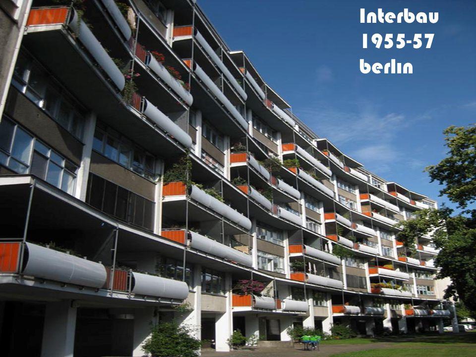 Interbau 1955-57 berlın