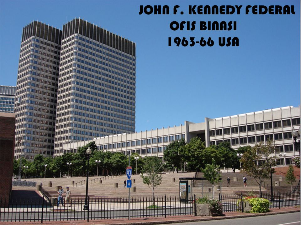 JOHN F. KENNEDY FEDERAL OFIS BINASI