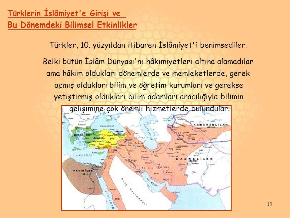 Türklerin İslâmiyet e Girişi ve