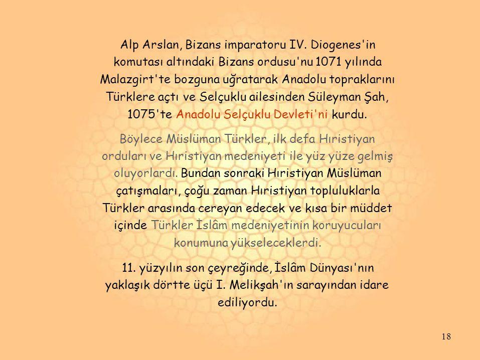 Alp Arslan, Bizans imparatoru IV. Diogenes in