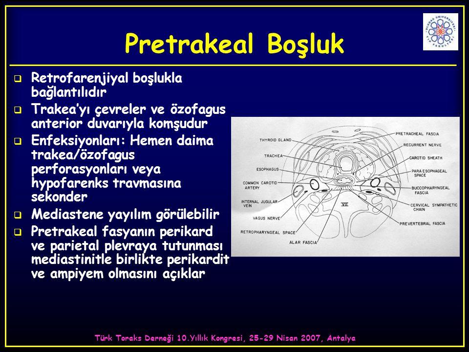 Türk Toraks Derneği 10.Yıllık Kongresi, 25-29 Nisan 2007, Antalya
