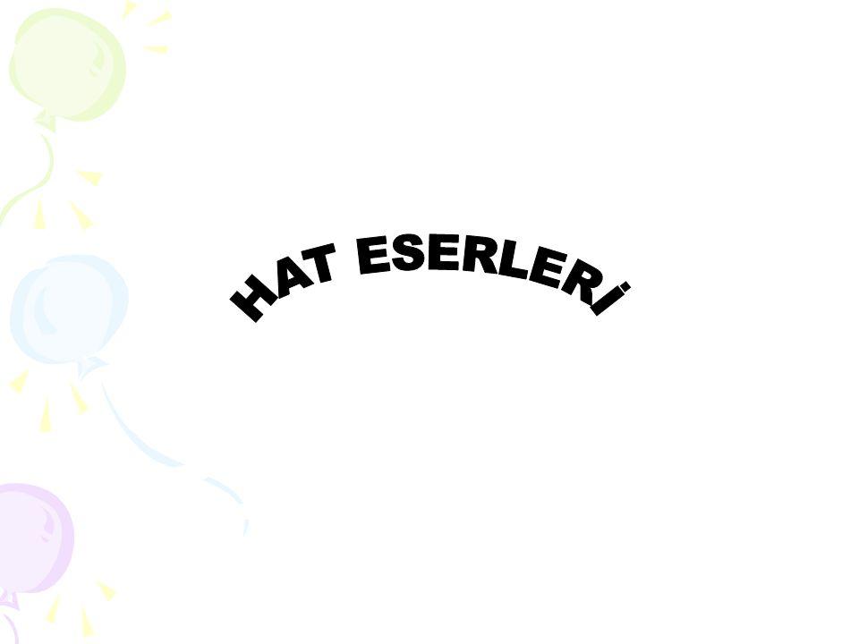 HAT ESERLERİ