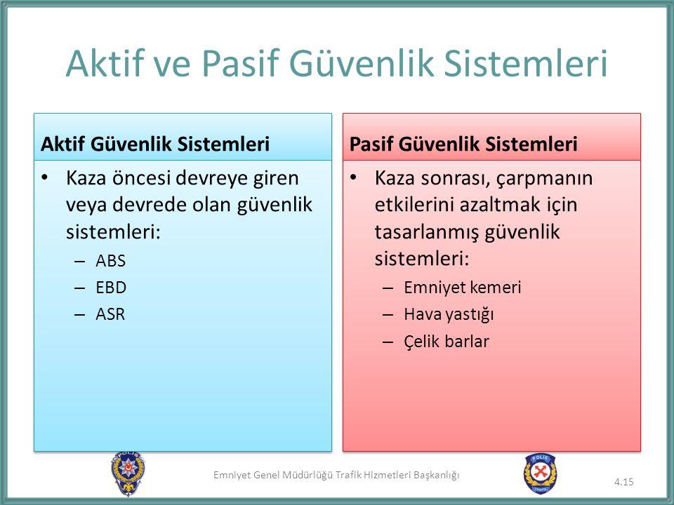 Aktif ve Pasif Güvenlik Sistemleri