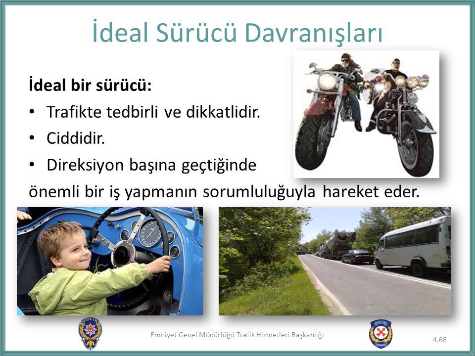 İdeal Sürücü Davranışları