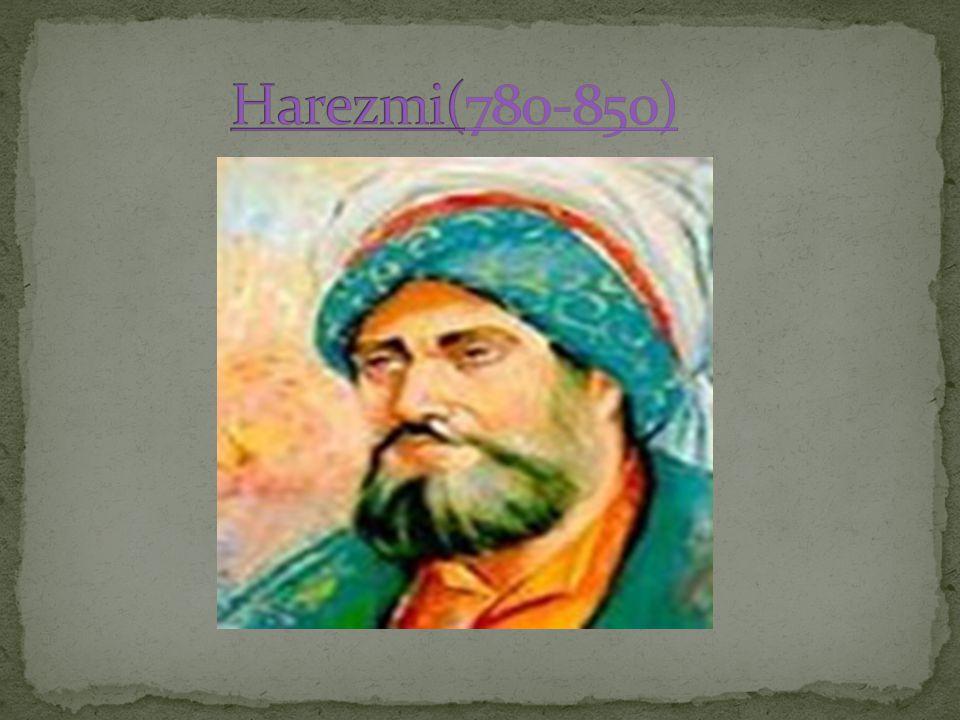 Harezmi(780-850)