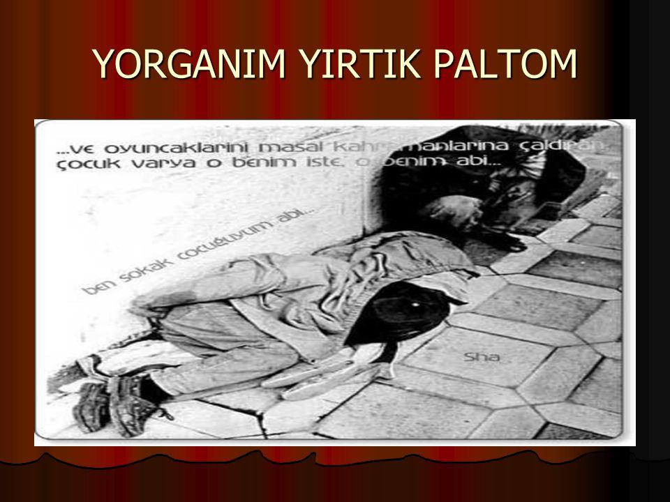 YORGANIM YIRTIK PALTOM