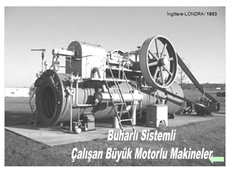 Çalışan Büyük Motorlu Makineler