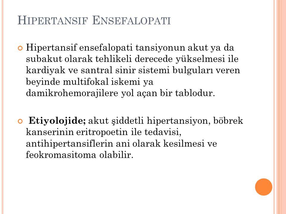 Hipertansif Ensefalopati