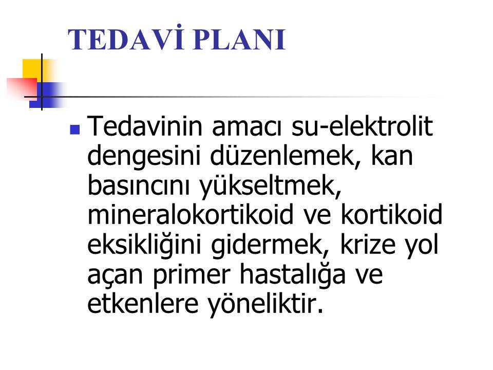TEDAVİ PLANI