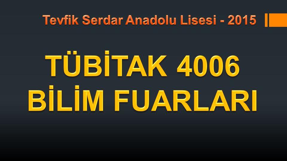 Tevfik Serdar Anadolu Lisesi - 2015