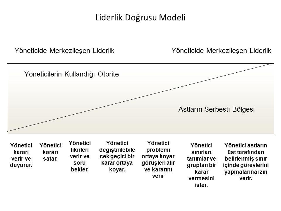Liderlik Doğrusu Modeli