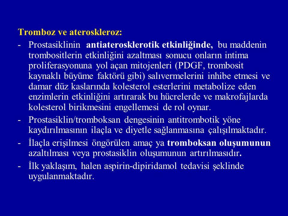 Tromboz ve ateroskleroz: