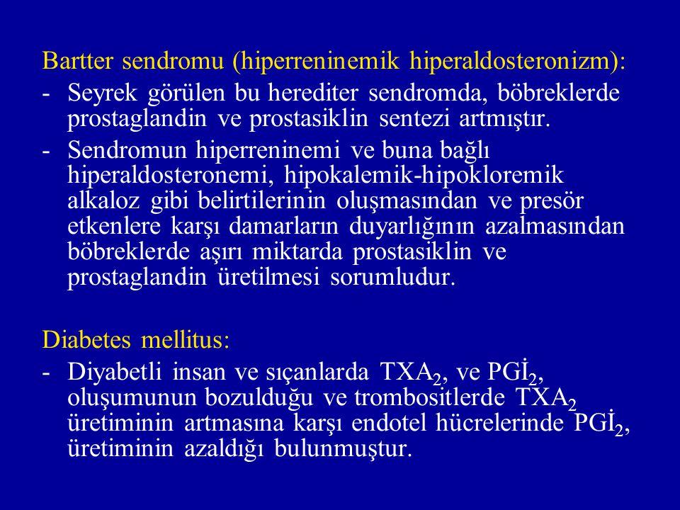 Bartter sendromu (hiperreninemik hiperaldosteronizm):