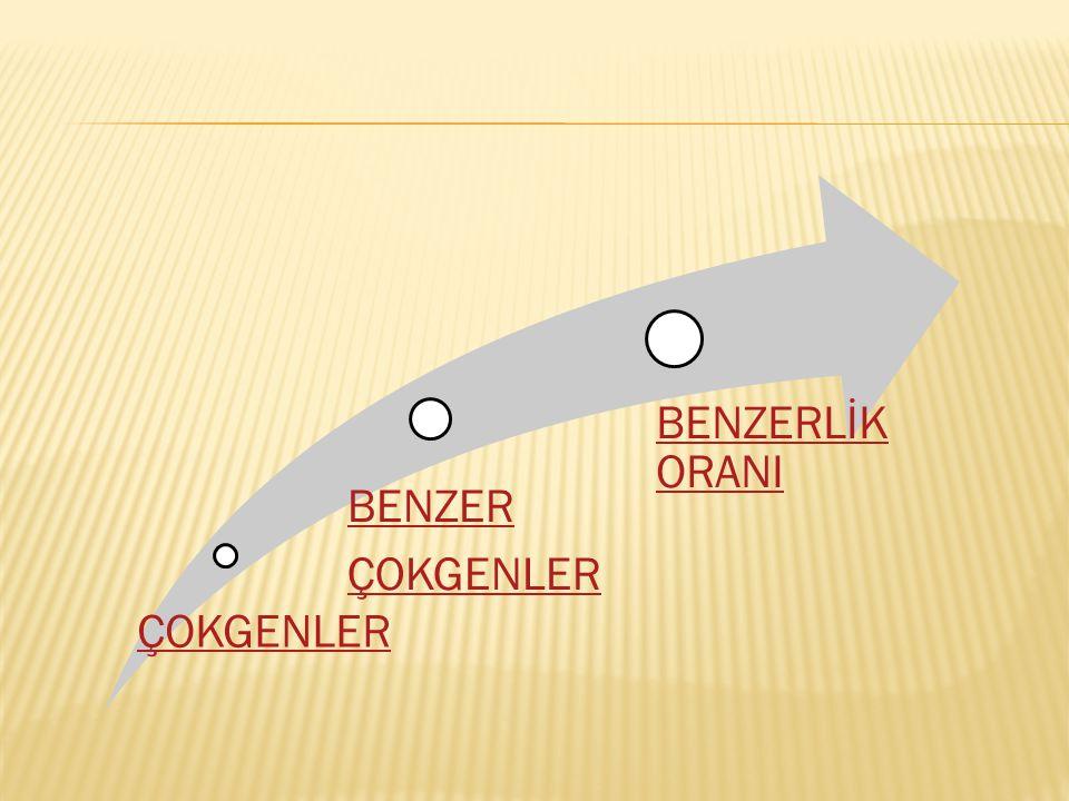 ÇOKGENLER BENZER BENZERLİK ORANI