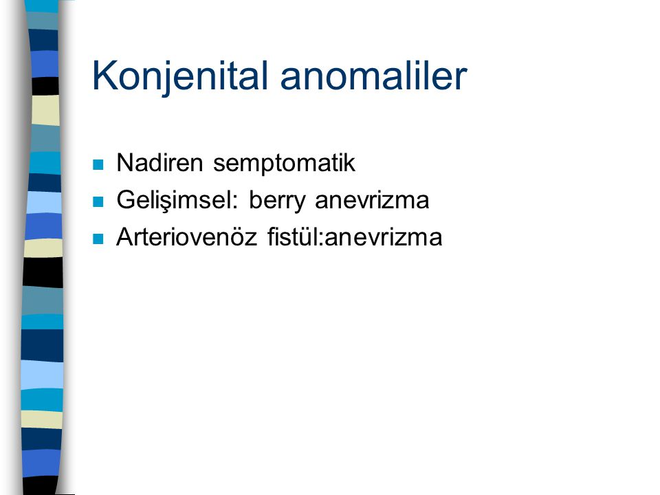 Konjenital anomaliler