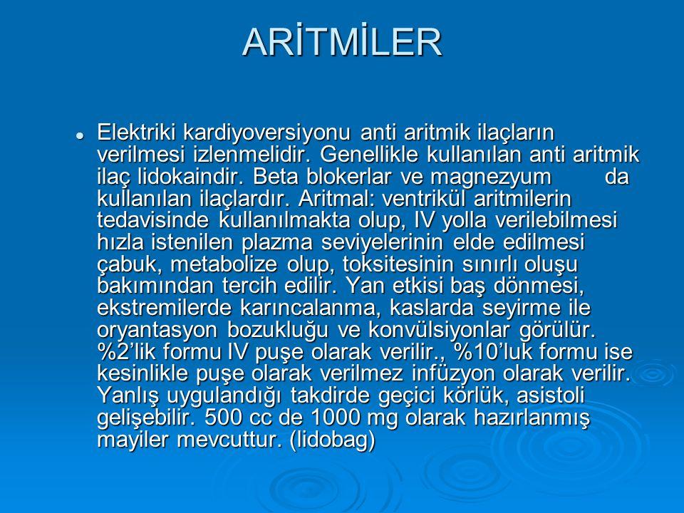 ARİTMİLER
