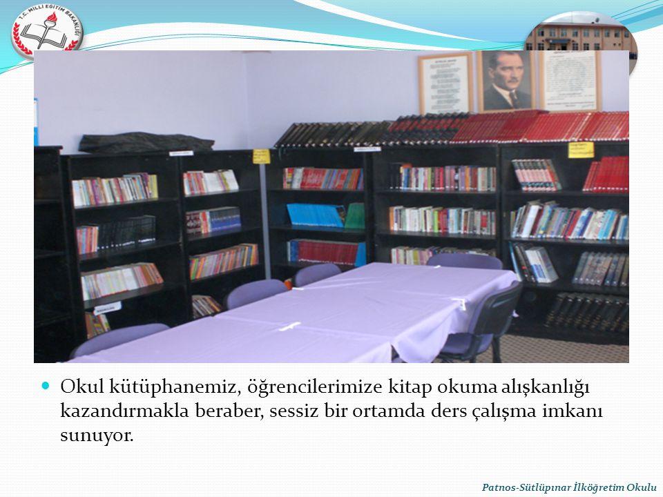 Okul kütüphanemiz, öğrencilerimize kitap okuma alışkanlığı kazandırmakla beraber, sessiz bir ortamda ders çalışma imkanı sunuyor.