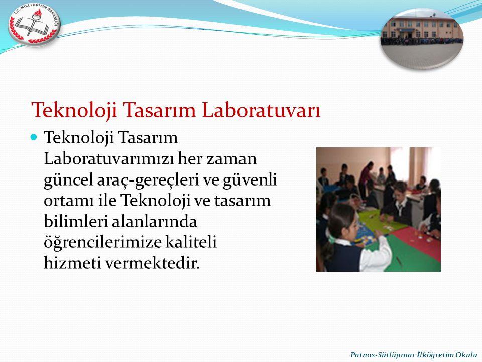 Teknoloji Tasarım Laboratuvarı