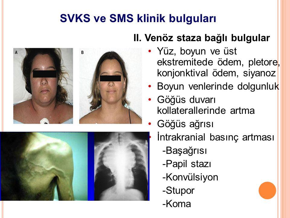 SVKS ve SMS klinik bulguları