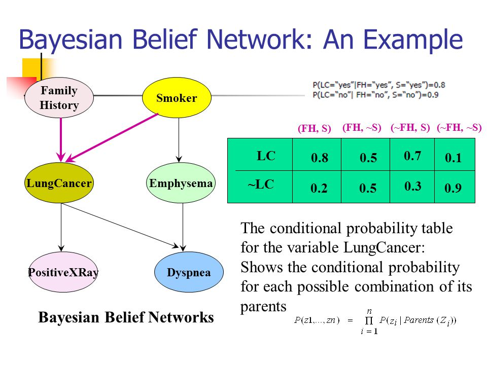 Bayesian Belief Network: An Example
