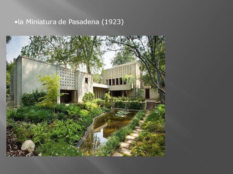 la Miniatura de Pasadena (1923)