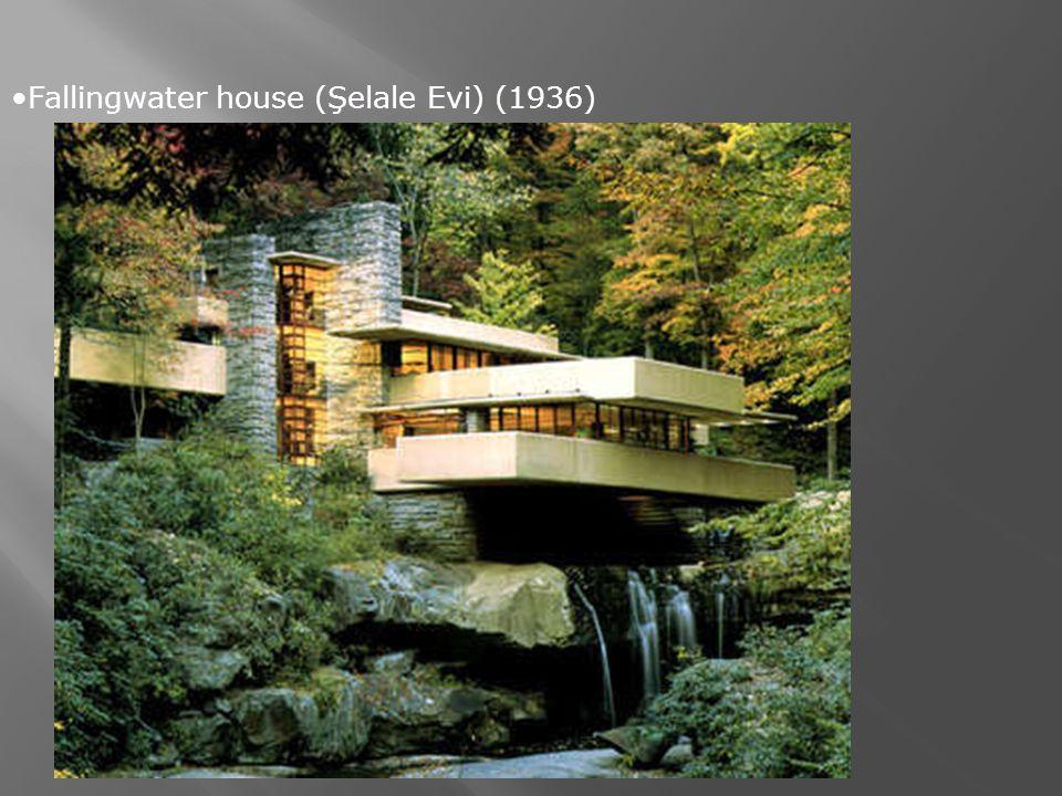 Fallingwater house (Şelale Evi) (1936)
