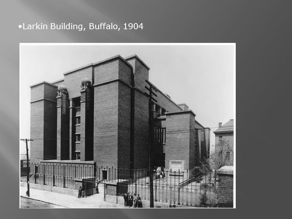 Larkin Building, Buffalo, 1904