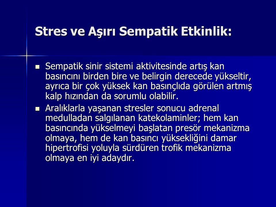Stres ve Aşırı Sempatik Etkinlik: