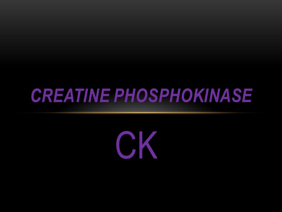 Creatine Phosphokinase