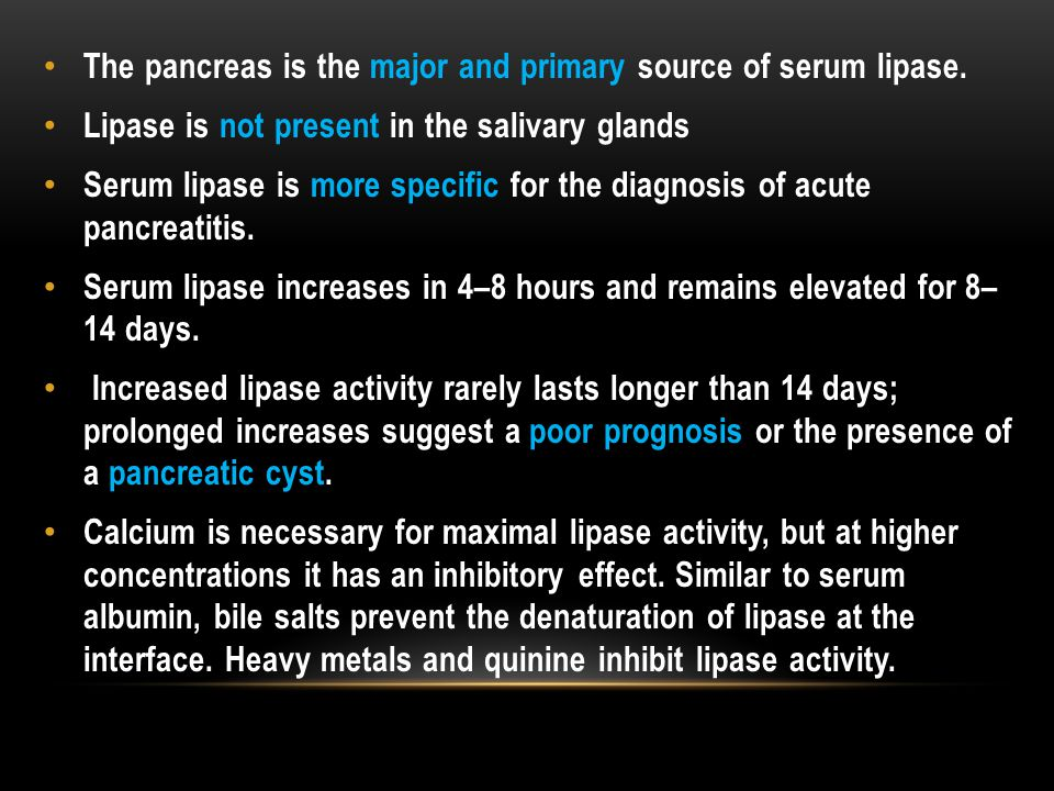 The pancreas is the major and primary source of serum lipase.