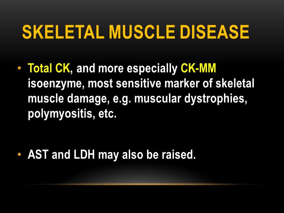 Skeletal muscle disease