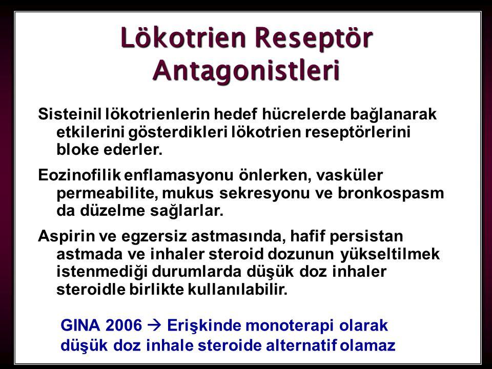 Lökotrien Reseptör Antagonistleri