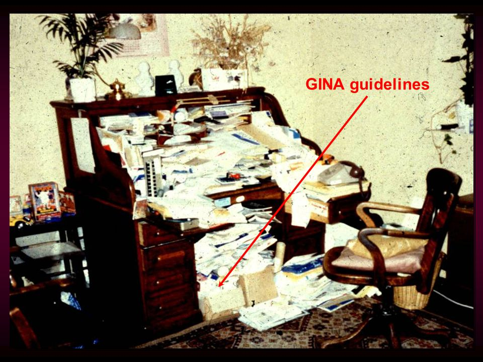 GINA guidelines