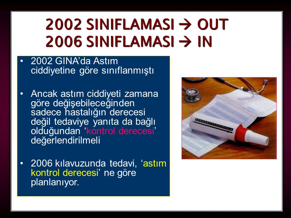 2002 SINIFLAMASI  OUT 2006 SINIFLAMASI  IN